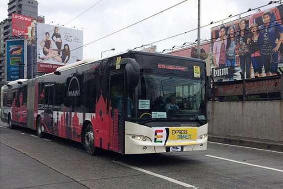 First Premium Accessible Bus in Manila